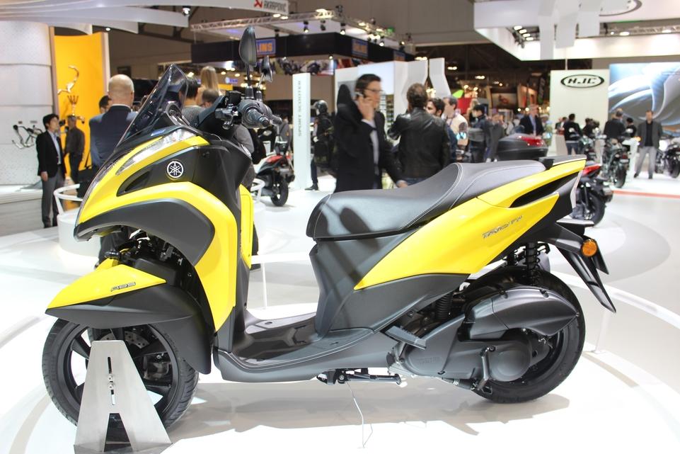 En direct d'Eicma 2016 : Yamaha Tricity 125 Euro 4