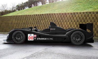 LMS 2009: Le Strakka Racing en LMP1