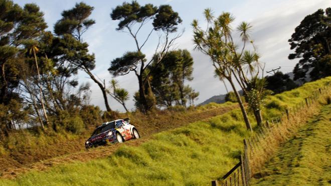 WRC Nlle-Zélande Jour 1 :  Loeb devant, Latvala dehors, comme d'habitude