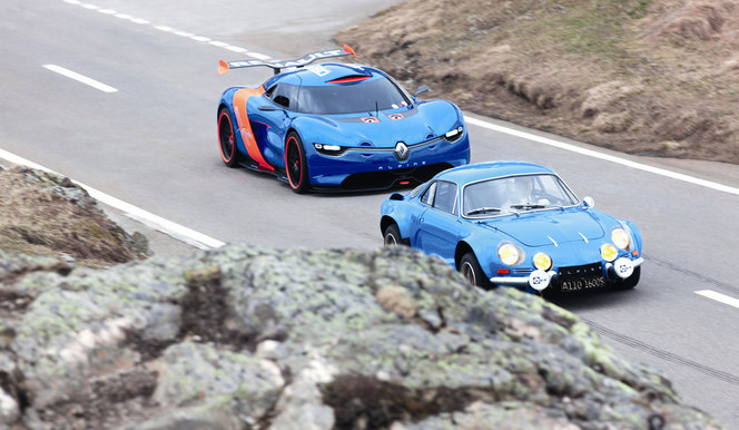 Alpine ou Alpine-Renault: un peu de marketing des noms