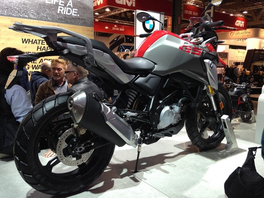 En direct d'Eicma 2016 : BMW G 310 GS