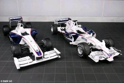 Formule 1 - BMW: Au tour de la F1.09