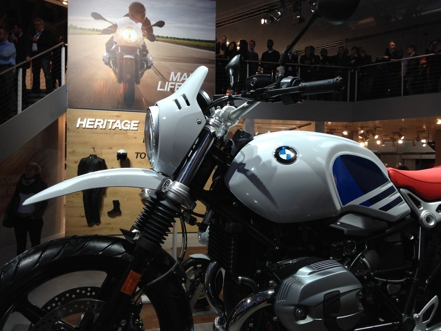 En direct d'Eicma 2016 : BMW R NineT Urban G/S