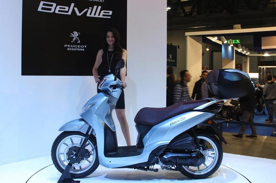 En direct d'Eicma 2016 : Peugeot Belville 125 cm3