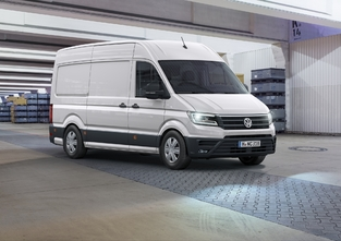 Volkswagen renouvelle son grand utilitaire Crafter