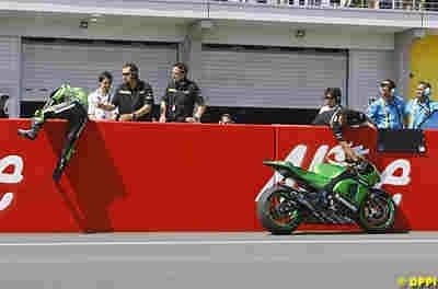 "Moto GP 2008: Kawasaki ""surpris"" par la décision de Randy"