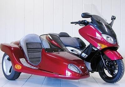 Un T-MAX pour voyager en famille
