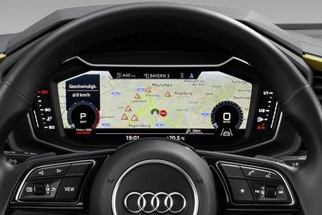 Les versions haut de gamme auront le Virtual Cockpit, avec écran 10,25 pouces.