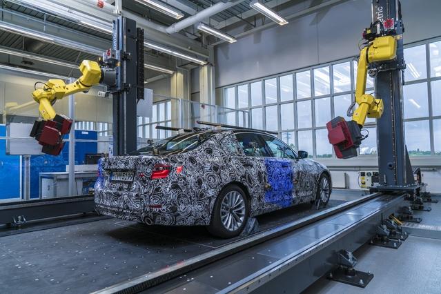 Nouvelle Série 5 : le teaser 3D de BMW