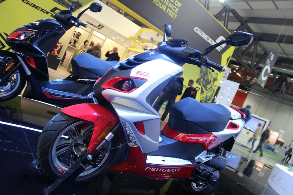 En direct d'Eicma 2016 : Peugeot Speedfight édition limitée 20ème anniversaire