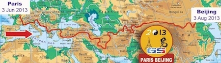 Rallye T3 GS 2013: Paris to Pekin