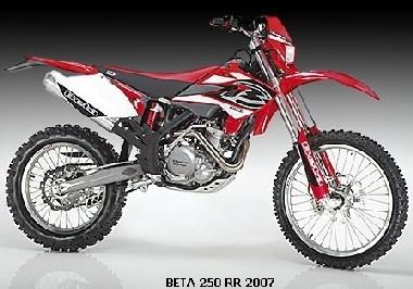 Pas de nouvelle Beta 250 en 2008