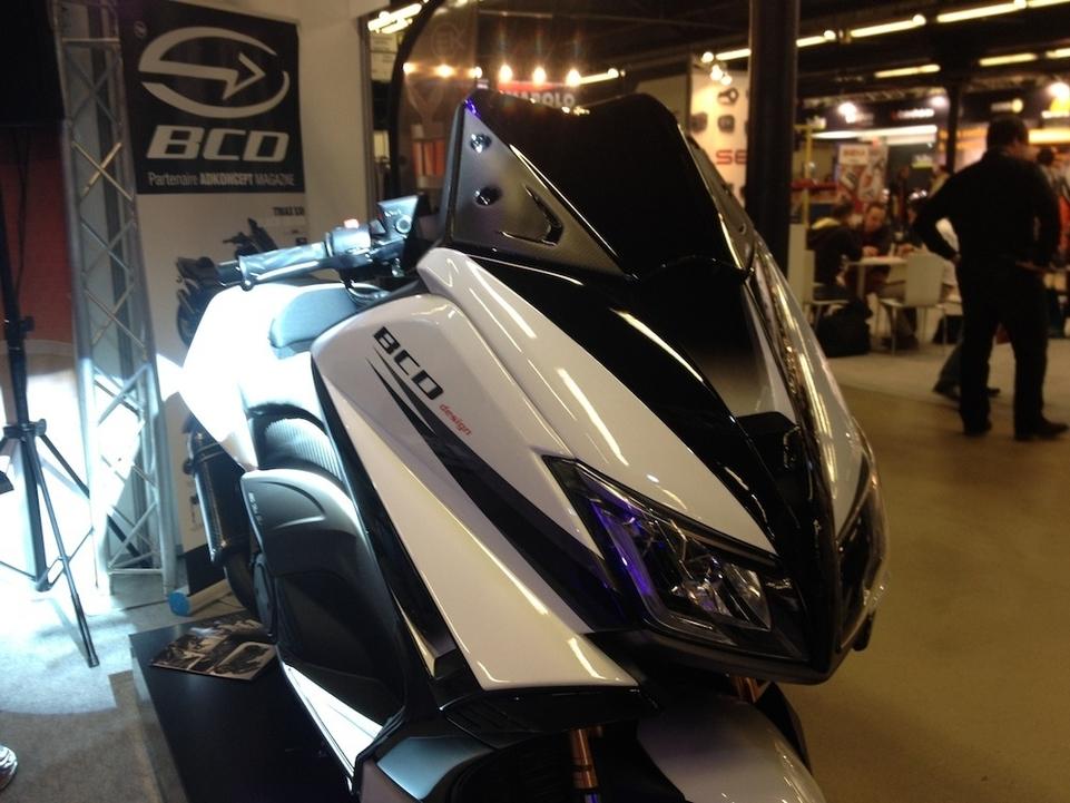 JPMS 2015 : un Yamaha T-Max revu par BCD