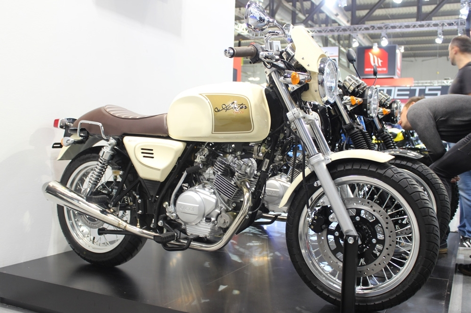 En direct d'Eicma 2016 : Orcal Sprint 125