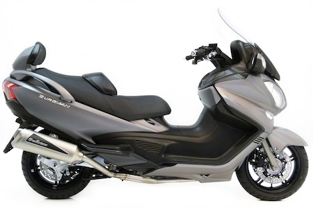 LeoVince GranTurismo: ligne pour Suzuki Burgman 650 (2013)