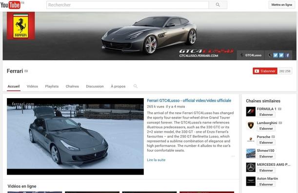 Constructeurs de luxe: et le champion des réseaux sociaux est...Lamborghini
