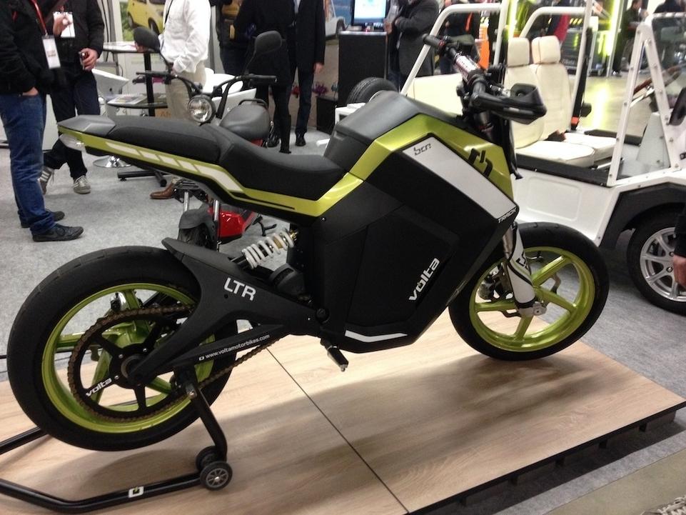 JPMS 2015 : Volta dévoile une moto électrique