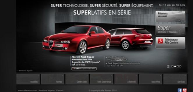 site web de voiture
