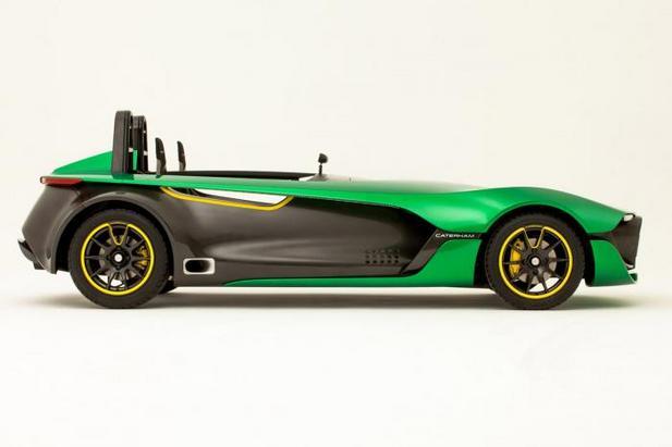 Voici la Caterham AeroSeven Concept: elle sera disponible dès 2014!