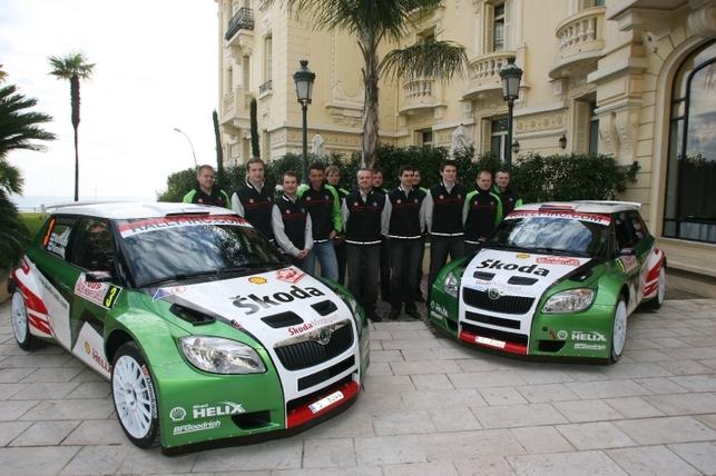 IRC Monte-Carlo : c'est parti ! Vouilloz, premier leader