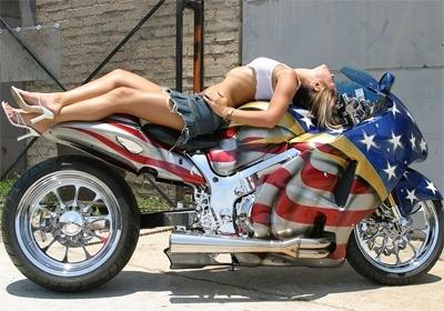 Moto & Sexy : God Bless Hayabusa