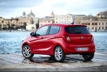 L'Opel Karl se montre en avance