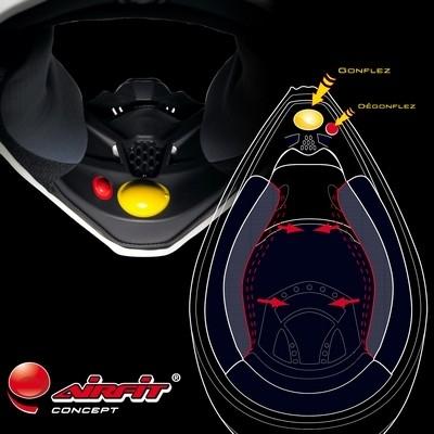 Le système Scorpion Airfit Concept se décline pour les casques TT : le VX-17 Air.