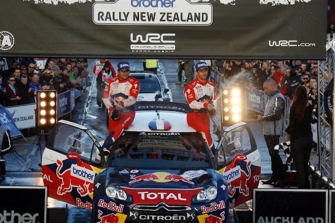 WRC Nlle-Zélande - final : Loeb sans surprise