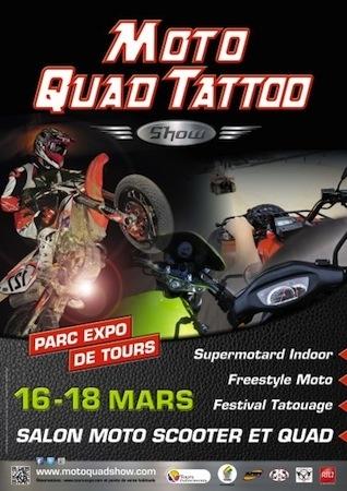 Moto Quad Tatoo Show 2012 (du 16 au 18 mars): direction Tours!