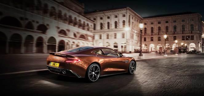 La nouvelle Aston Martin Vanquish en vidéo