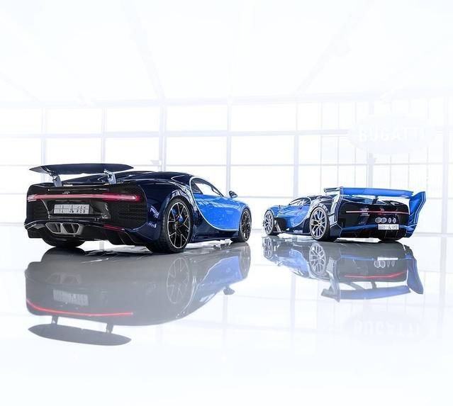 Un Saoudien achète une Bugatti Chiron et le concept Bugatti Vision Gran Turismo