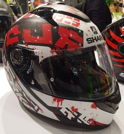 En direct de l'EICMA 2016: Shark