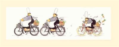 Star du jour : Mam' Goudig à moto