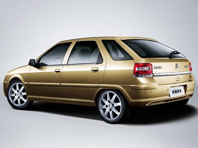 Citroën Origins, ce n'est pas qu'un voyage dans le temps, c'est aussi un voyage sur le globe avec la découverte de véhicules autrefois commercialisés sur d'autres marchés. Par exemple, cette Elysée chinoise, qui était une ZX restylée.
