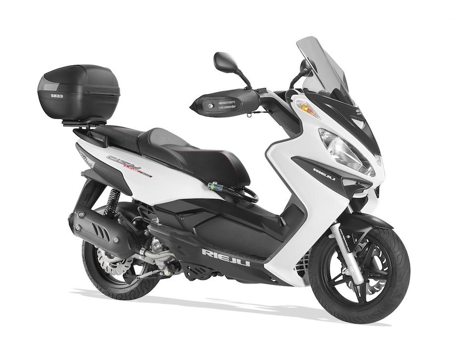 Nouveauté scooter 2015 : Rieju Cityline Connecté 2.0 125/300
