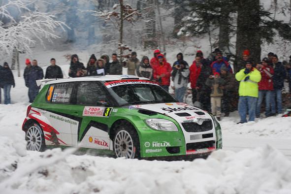 IRC Monte Carlo : les Skoda enfoncent le clou (dans la neige)