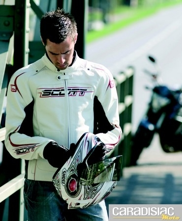 Blouson Scott Racer: racing mais classe!