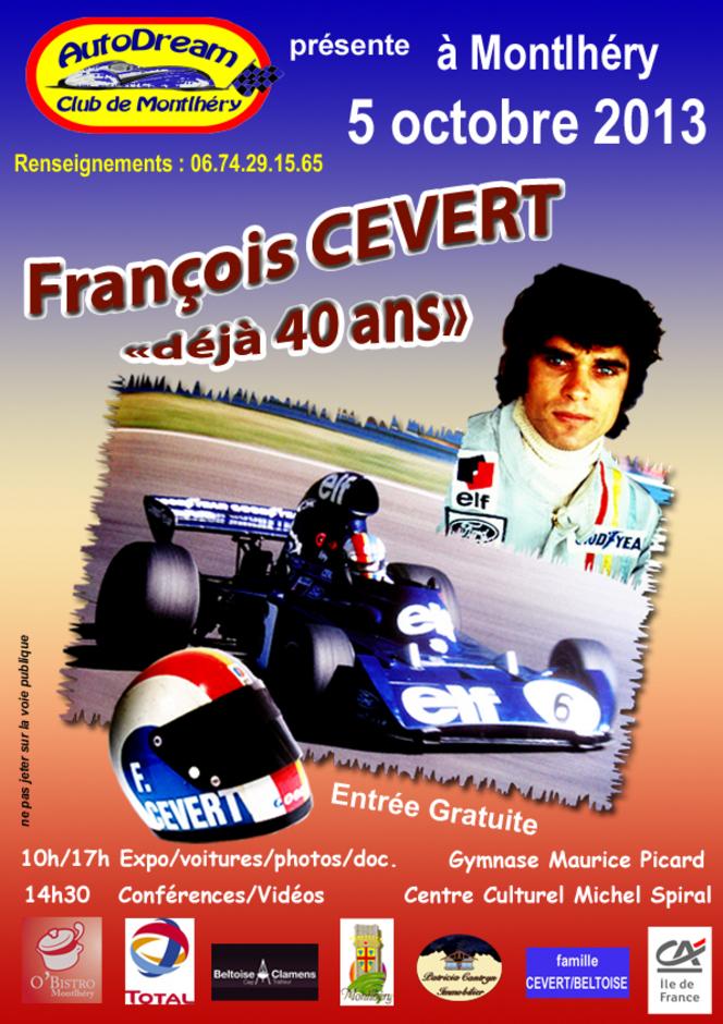 François Cevert : 40 ans déjà