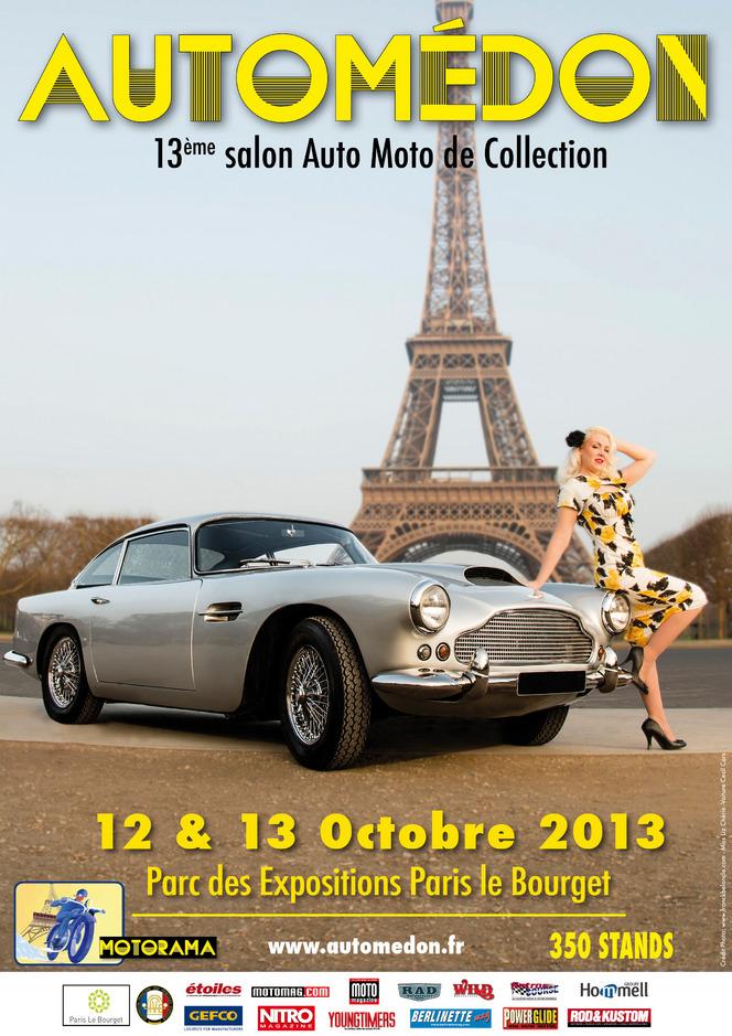 Le salon Automédon 2013 ouvre ses portes le 12 octobre prochain