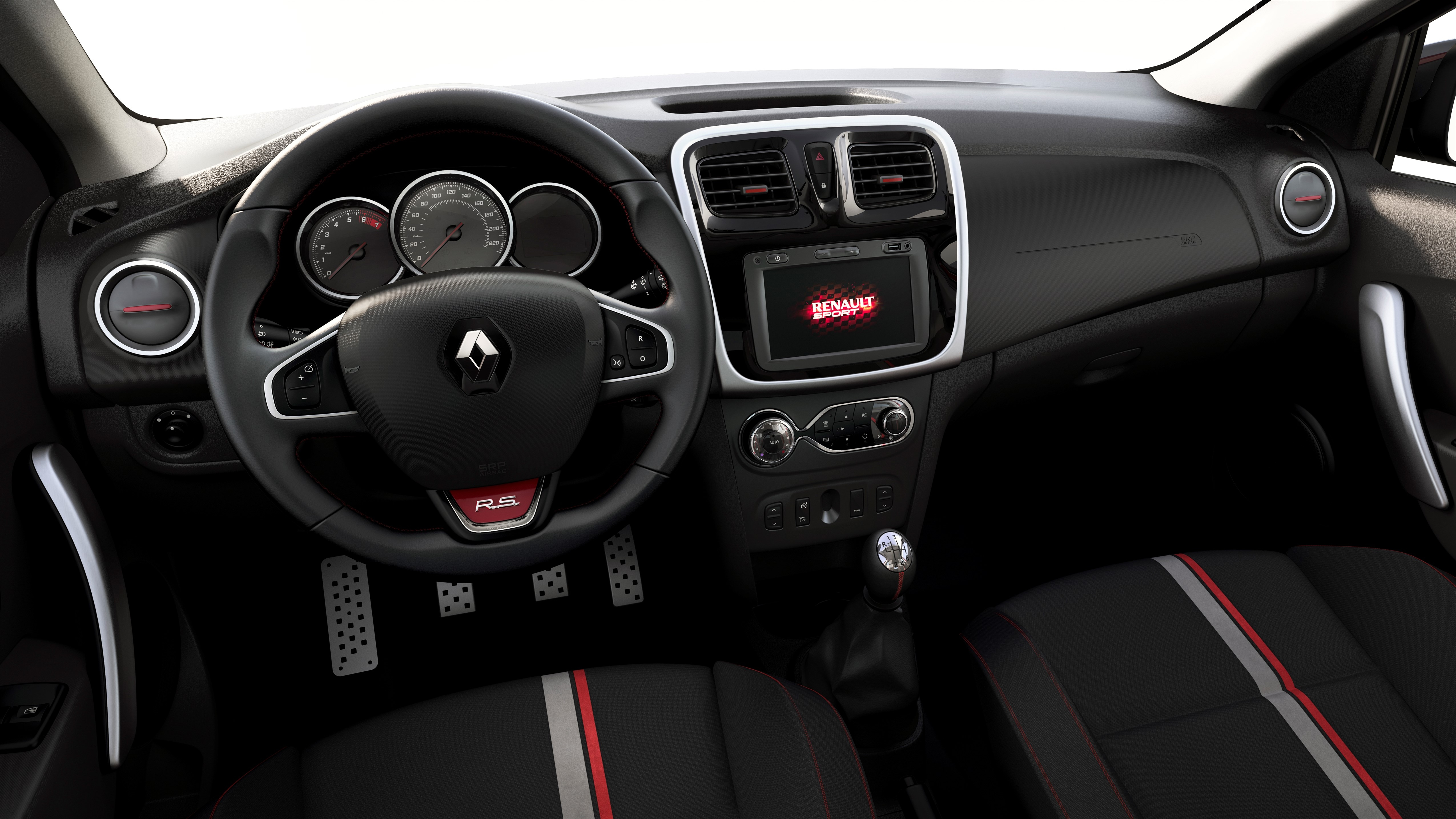 Sandero r s la sportive low cost enfin l essai for Duster interieur