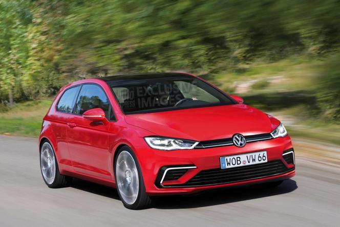 Future VW Golf VIII : comme ça ?