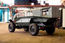 ZIL dévoile son projet de 4x4 militaire. Le futur Hummer ?
