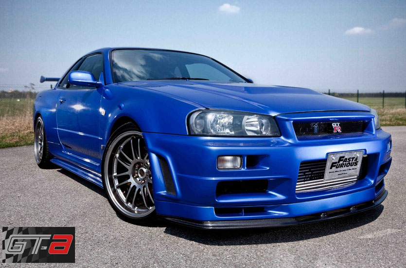 la nissan skyline gt r de fast furious 4 est vendre. Black Bedroom Furniture Sets. Home Design Ideas