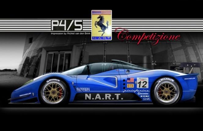 La construction de la Ferrari P4/5 Competizione a débuté