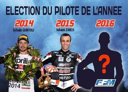 Qui sera le pilote de l'année? Votez!