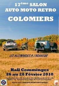 Du 26 au 28 février 2010 : Salon auto moto rétro à Colomiers (31): les allemandes à l'honneur…