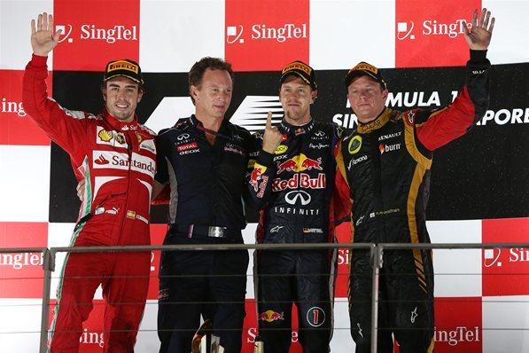 F1 - GP de Singapour : Vettel promène la nuit