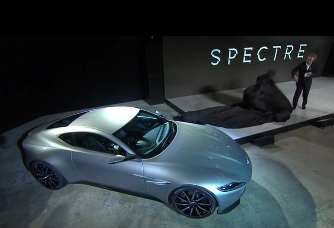 Voici la nouvelle Aston Martin DB10 de James Bond