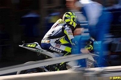Moto GP: San Marin: Rossi essaiera le nouveau moteur