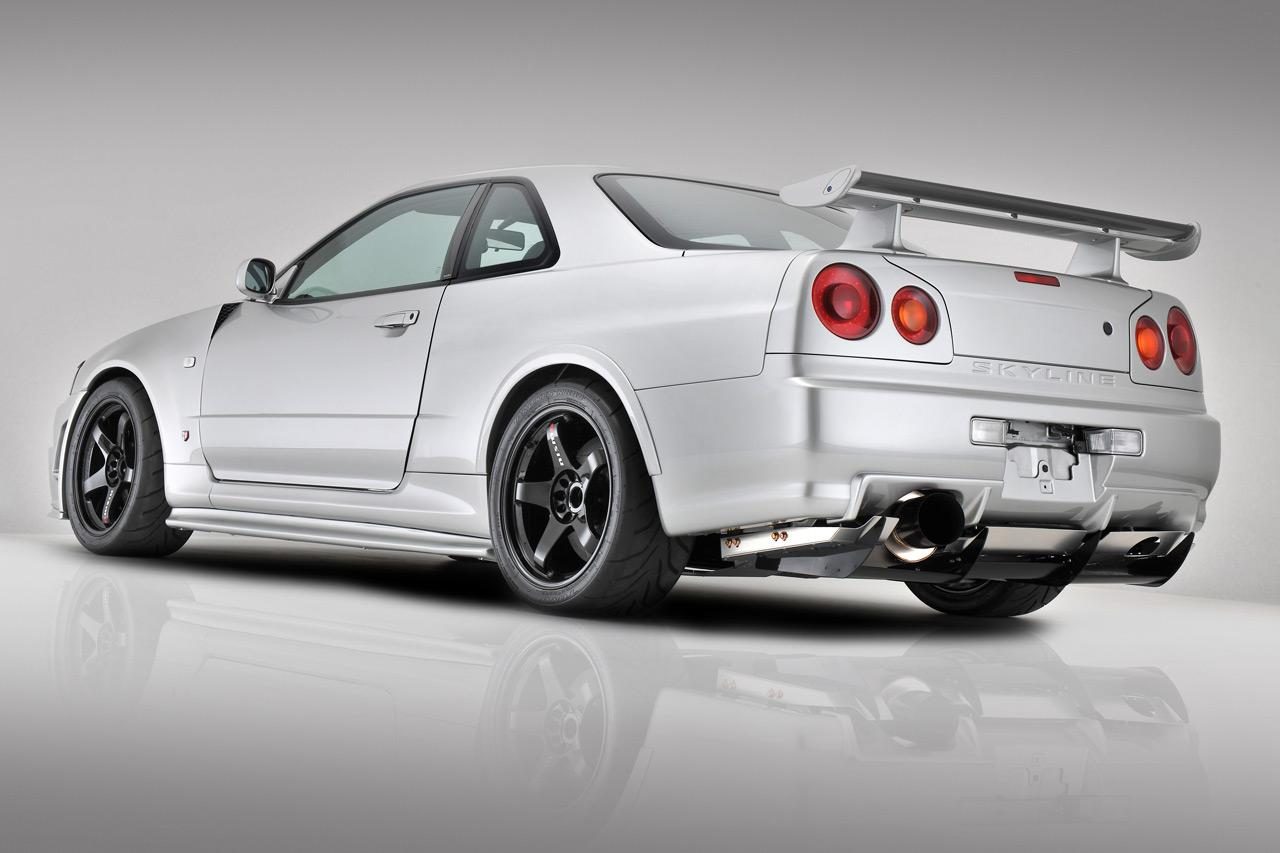 nissan skyline r34 gt r comme neuve c 39 est possible. Black Bedroom Furniture Sets. Home Design Ideas